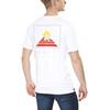 Gentic New School t-shirt Heren wit